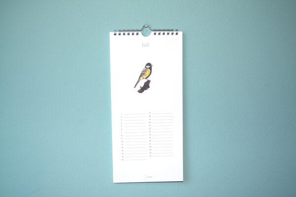 Kalender Birdday 07