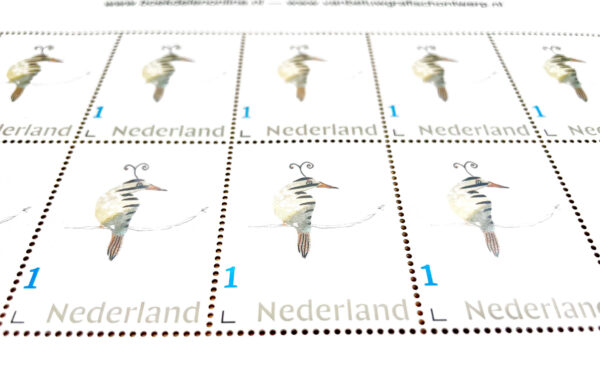 Postzegels Troostvogels