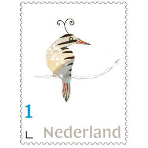 BoekDelen Postzegel